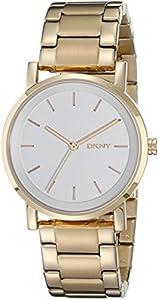 DKNY–Reloj de pulsera analógico de cuarzo (Talla Única), color plateado de DKNY