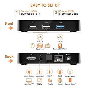 Leelbox-TV-Box-Android-904GB64GBQ4-PLUS-Botier-TV-Quad-Core-64-bit-Android-Box-Wi-Fi-integratoBT-41-Box-TV-UHD-4K-TVUSB-30-Media-Player-Android-Set-top-Box-2019-Dernire-Version