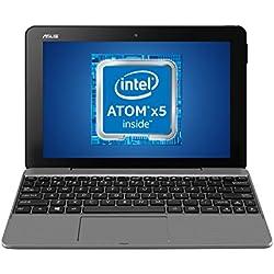 """ASUS Transformer Book T101HA-GR049T, Notebook con Monitor 10,1"""" WXGA Glare, Touchscreen, Intel Atom x5-Z8350, RAM 4 GB DDR3, 64 GB EMMC, Windows 10 con Incluso Pacchetto Office"""