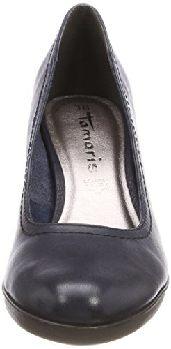 Tamaris 22471, Scarpe con Tacco Donna Blu (Navy Leather)