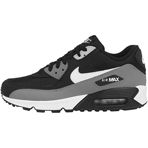 the latest a54d5 b2d1d Nike Herren Men s Air Max  90 Essential Shoe Gymnastikschuhe, Schwarz  (Black White