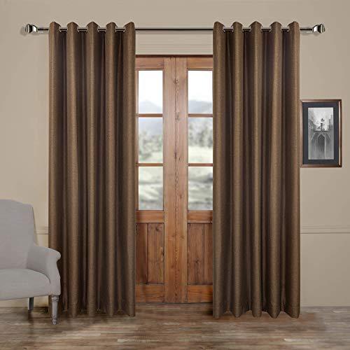 Bambus-panel (MICHELE HOME FASHION (Set von 1Panel 20Custom Moderne Massivem Bambus Faser Tülle Top Verdunkeln Fenster Behandlung Vorhänge und Vorhänge Panels Modern 1*(84