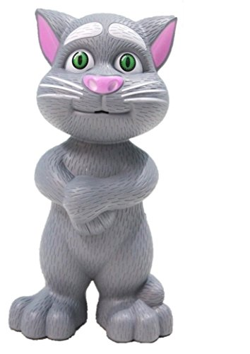 Lalli Sales Intelligent Talking Tom Cat with Touch Recording Story Rhymes & Songs for Childrens(Assorted)
