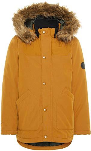 NAME IT Jungen NKMMALIEN Jacket NOOS Jacke, Braun Bronze Brown, (Herstellergröße: 152)