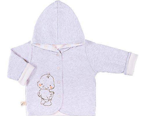 Be Mammy Kinder Baby Sweatshirt mit Kapuze BEEK0006 (Melange/Creme, 86) (De Creme Sweatshirt La Creme)