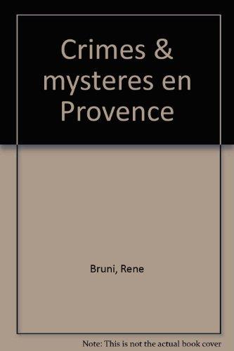 Crimes & mysteres en provence