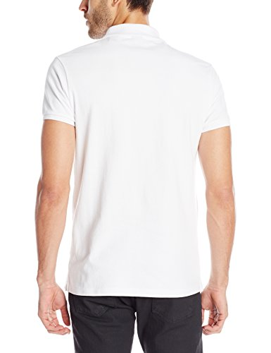 Scotch & Soda Herren Poloshirt 99019955099 Weiß (White 00)