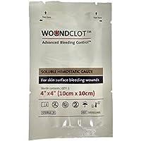 """WoundClot Lösliche Hämostatische Gaze – Fortgeschrittene Kontrolle von Blutungen (4"""" X 4"""" (10cm X 10cm)) preisvergleich bei billige-tabletten.eu"""