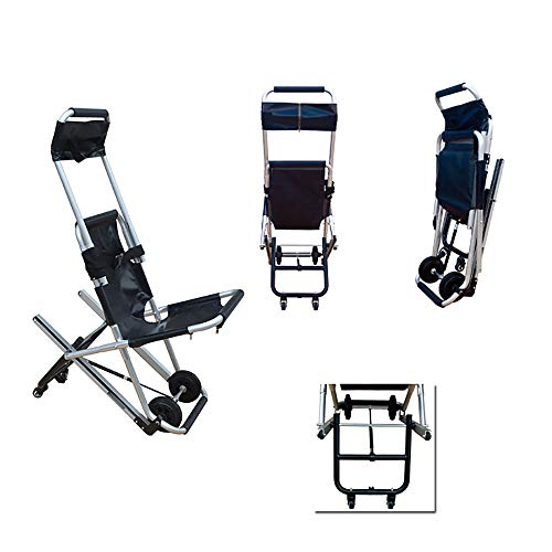 SUN RDPP Bahren Tragbarer Transport-Treppen-Aluminiumstuhl-Notfallpatiententransport der medizinischen Bahre für Rettung