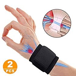 SUPRBIRD 1 pair of wrist straps with adjustable straps for support and stabilization in sports and fitness, hand bandage