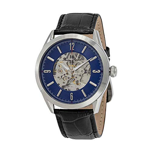 Lucien Piccard Loft Automatic Blue Dial Mens Watch LP-10660A-03-W