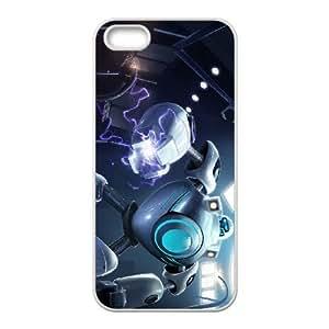 iPhone 5 5s Cell Phone Case White League of Legends iBlitzcrank PD5305875