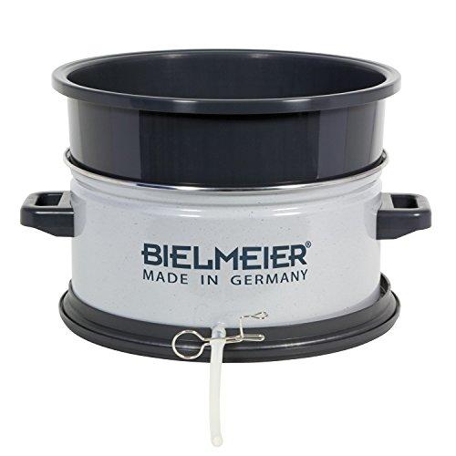 BIELMEIER Entsafter-Aufsatz für Einkochautomaten 27 Liter/Emaile/BHG 430