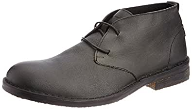 Levis Men's Estate Charcoal Leather Boots - 11 UK