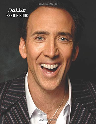 Preisvergleich Produktbild Sketch Book: Nicolas Cage Sketchbook 129 pages,  Sketching,  Drawing and Creative Doodling Notebook to Draw and Journal 8.5 x 11 in large (21.59 x 27.94 cm)