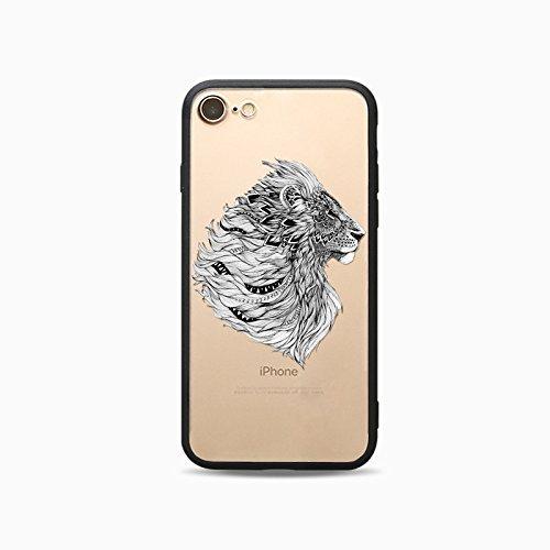 Coque iPhone 6 6s Housse étui-Case Transparent Liquid Crystal Les animaux en TPU Silicone Clair,Protection Ultra Mince Premium,Coque Prime pour iPhone 6 6s-Cheval-style 12 13