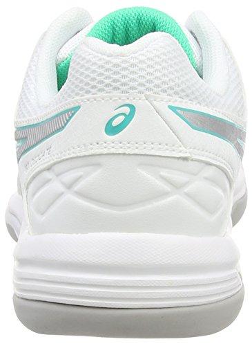 4 dedicate silver white Asics Weiß Gel Indoor Tennisschuhe 0193 Damen mint qTOxExgCw