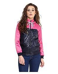 Yepme Klara Full Sleeves Jacket - Blue & Pink -- YPMJACKT5158_L