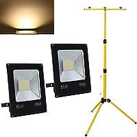 Flutlichtstrahler AML® FL-50 Design LED Fluter Strahler Scheinwerfer schwarz
