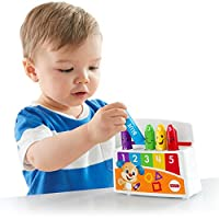 Fisher-Price Colourful Mood Crayons, Toddler Electronic Educational Toy with Songs Sounds and Phrases, 18 Months and Above