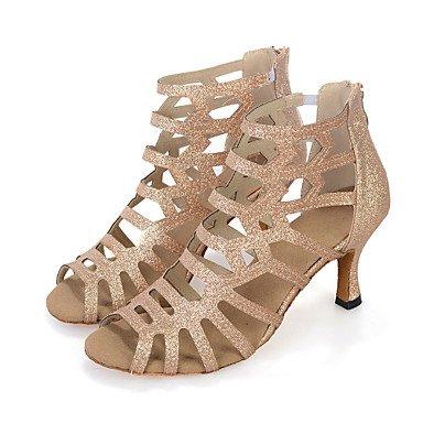 Scarpe da ballo-Da donna-Danza del ventre / Balli latino-americani / Jazz / Sneakers da danza moderna / Moderno / Samba Black