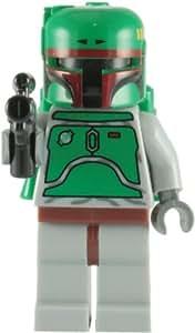 LEGO Star Wars: Boba Fett Minifigure with Blaster Rifle