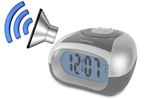 Reloj de Mesa con VOZ -Ciegos o Baja Visión