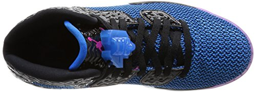 Nike Air Jordan Spike Forty, Chaussures de Sport Homme, Taille Noir / Rose / Orange / Blanc (Black / Fr Pink-Pht Bl-Atmc Orng)