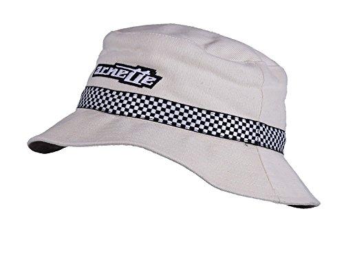 ARNETTE Cappello unisex FISHING HAT bianco panna 822944 cotone
