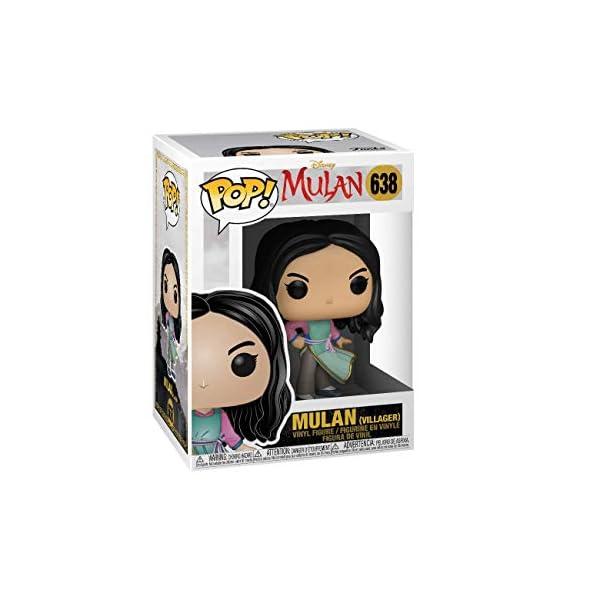 Funko Pop Mulán en el pueblo (Mulán 638) Funko Pop Disney