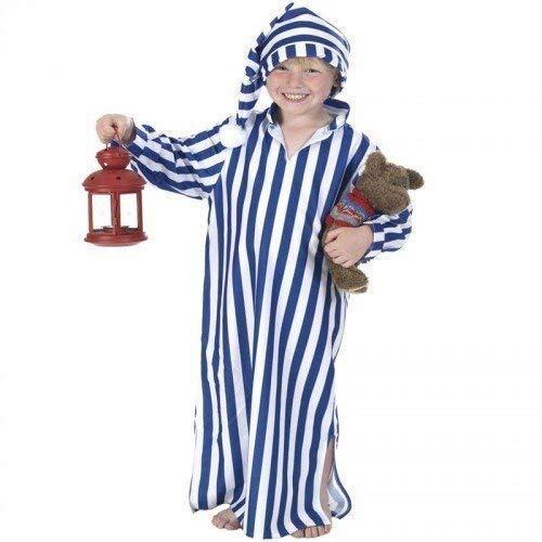 Fancy Me Jungen Wee Willie Winkie Ebeneezer Scrooge Büchertag Weihnachtskostüm Outfit 6-7-8 Jahre (Kind Willie Kostüm)