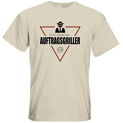 getshirts - SizzleBrothers Merchandise Shop - T-Shirt - SizzleBrothers - Grillen - Auftragsgriller Natural