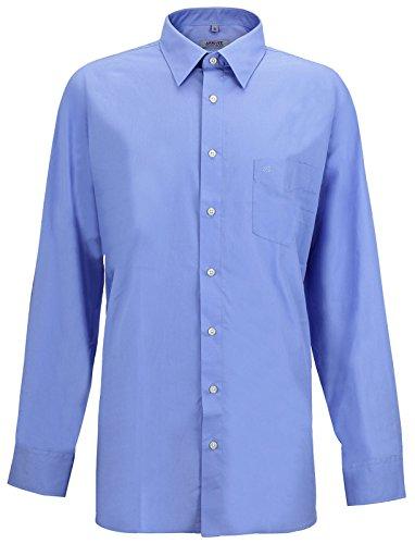 Arrivee -  camicia classiche - basic - classico - uomo blu xxx-large