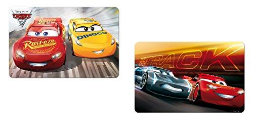 Set dessous de table bureau 3D Cars 3 Disney - Repas enfant - Aléatoire - 266