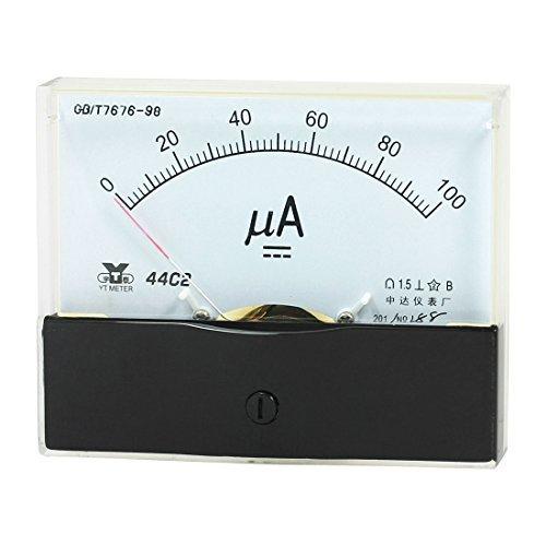 Panel Mount Analoge Ampèremeter Meter DC 0 - 100uA range 44C2
