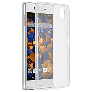 mumbi UltraSlim Hülle für Sony Xperia X Schutzhülle transparent (Ultra Slim - 0.55 mm)