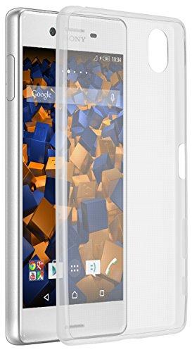 mumbi Hülle kompatibel mit Sony Xperia X Handy Case Handyhülle Slim dünn, transparent