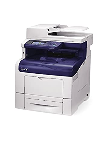 Xerox WorkCentre 6605V_DN Imprimante multifonction laser couleur 35 ppm 1200 x 1200 dpi USB 2.0 Ethernet Blanc