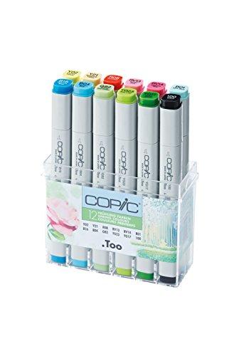 Copic Marker - Frühlingsfarben - 12er Set