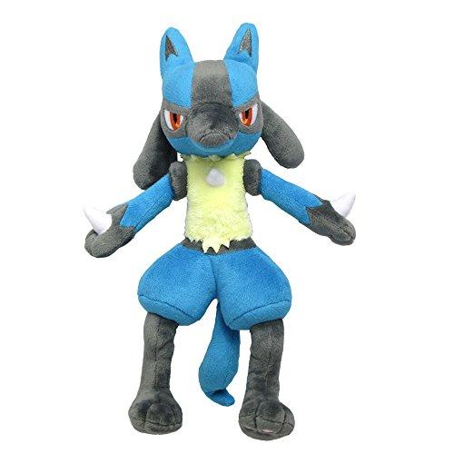 Unbekannt Sanei Pokemon All Star Series Lucario Stuffed Plush, 12