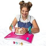 Pottery Studio Kit DIY Juguete con arcilla para ni/ños principiantes para diversi/ón YaeTek Pottery Wheel Juguete Educativo