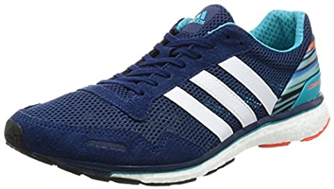 adidas Herren Adizero Adios M Sneakers, Blau (Mysblu/Ftwwht/Eneblu), 43 1/3 EU