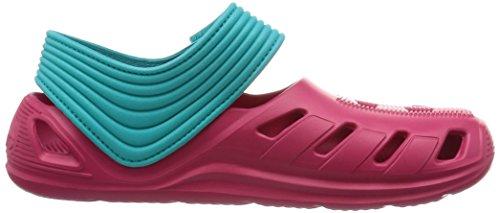 adidas Unisex Baby Zsandal C Zehentrenner, Rosa / Blanco / Azul (Rosfue / Ftwbla / Verimp), 30 EU -