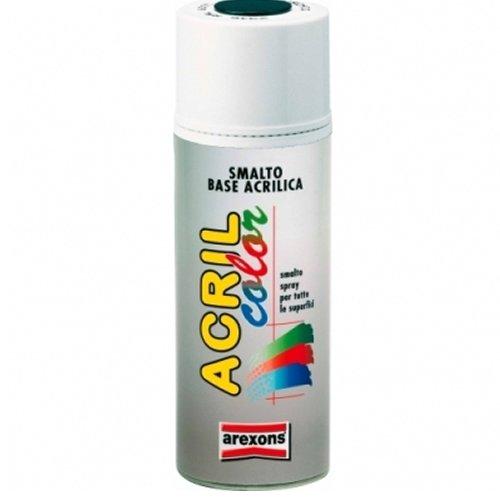 Arexons 3960 Acrilcolor, Bianco Opaco, 400 ml