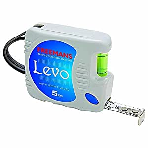FREEMANS LEVO STEEL MEASURING TAPE 5 METER X 16 MM WITH LEVEL MEASURING (1.00)