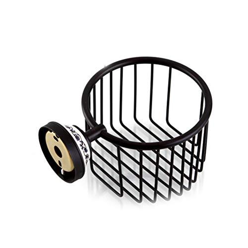 Draht-speicher-korb (OUNONA Toilettenpapier-Draht-Korb-Wand-Einfassungs-Rollen-Toiletten-Gewebe-Caddy-Speicher-Badezimmer)