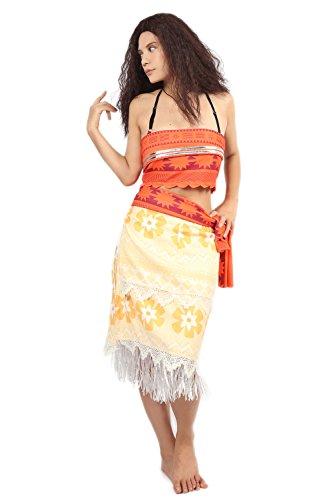 Anime Cosplay Kostüm Pastoral Style Full Set Outfits Verrücktes Kleid Abendkleid für Erwachsene Frauen (Custom Made Mädchen Kostüm)