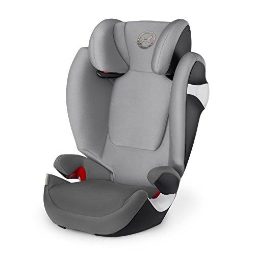 Preisvergleich Produktbild Cybex Gold 518000469 Solution M, Autositz Gruppe 2/3 (15-36 kg), Kollektion 2018, ohne Isofix, manhattan grey