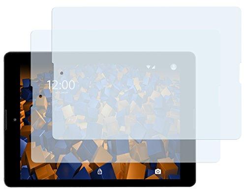 mumbi Schutzfolie kompatibel mit Medion Lifetab P9701 9,7 Zoll Folie klar, Bildschirmschutzfolie (2x)