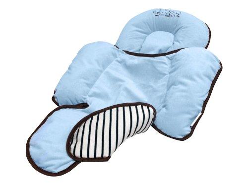 Happy Kids 28605 Verkleinerer für Kindersitz, Babyschale, hellblau